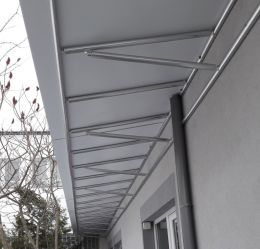 Навеси и козирки от алуминии, метал и неръждаема стомана - Алу Груп - Пловдив - 10 - Алугруп - Пловдив