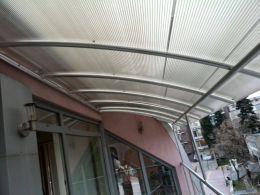 Навеси и козирки от алуминии, метал и неръждаема стомана - Алу Груп - Пловдив - 23 - Алугруп - Пловдив
