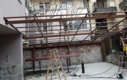 Навеси и козирки от алуминии, метал и неръждаема стомана - Алу Груп - Пловдив - 03 - Алугруп - Пловдив