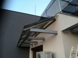 Навеси и козирки от алуминии, метал и неръждаема стомана - Алу Груп - Пловдив - 43 - Алугруп - Пловдив
