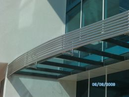 Навеси и козирки от алуминии, метал и неръждаема стомана - Алу Груп - Пловдив - 15 - Алугруп - Пловдив